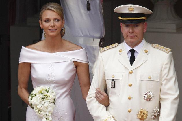 Mariage de Charlène Wittstock et du Prince Albert II le 2 juillet 2011
