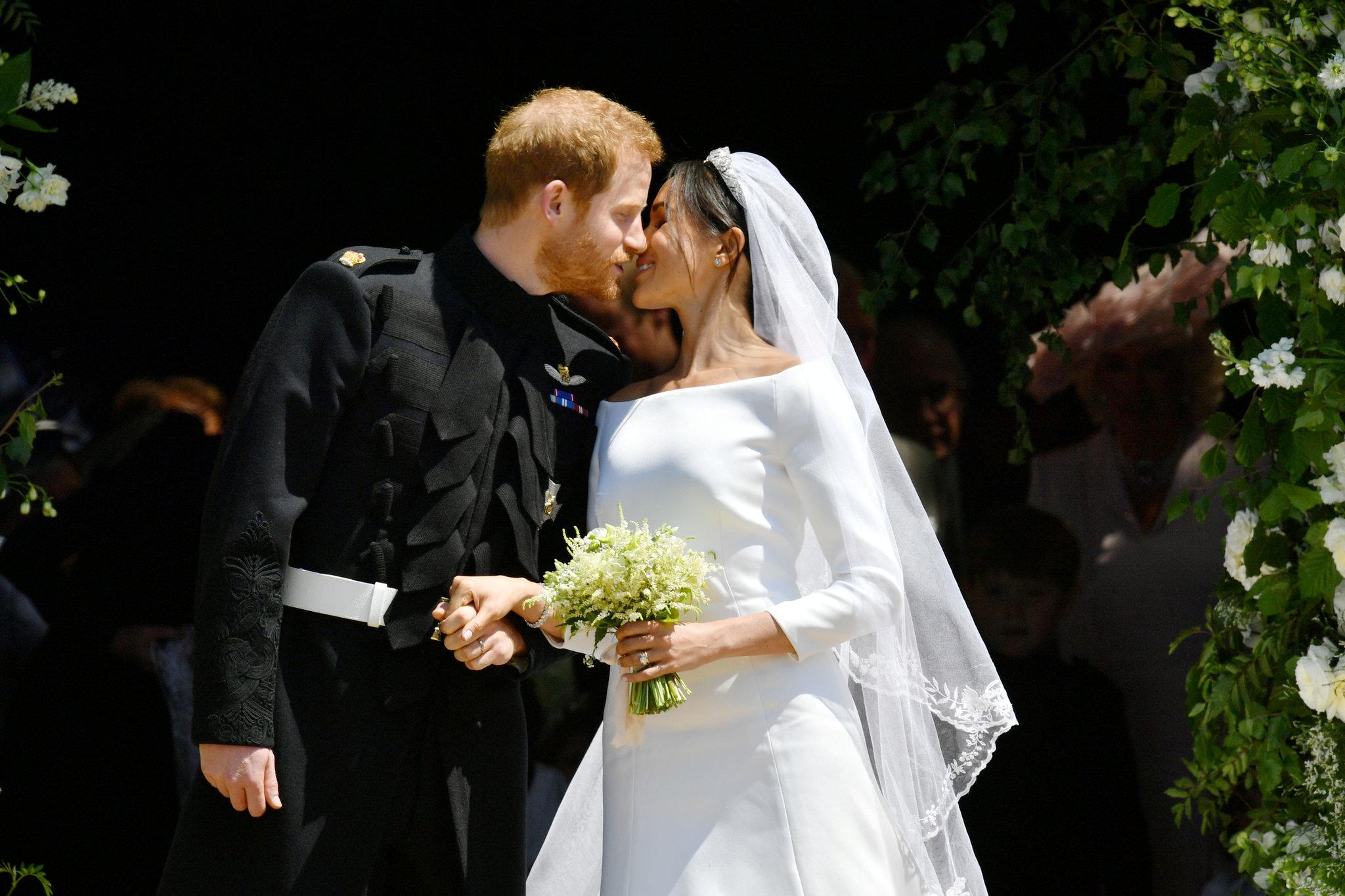 Découvrez les photos officielles du mariage du prince